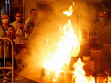 Noche de San Juan con controles policiales y sin aglomeraciones por coronavirus
