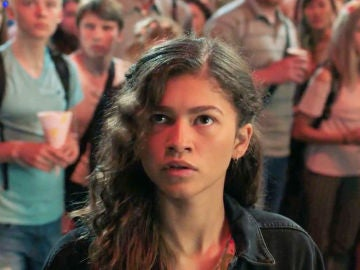 Zendaya como MJ en 'SpiderMan'