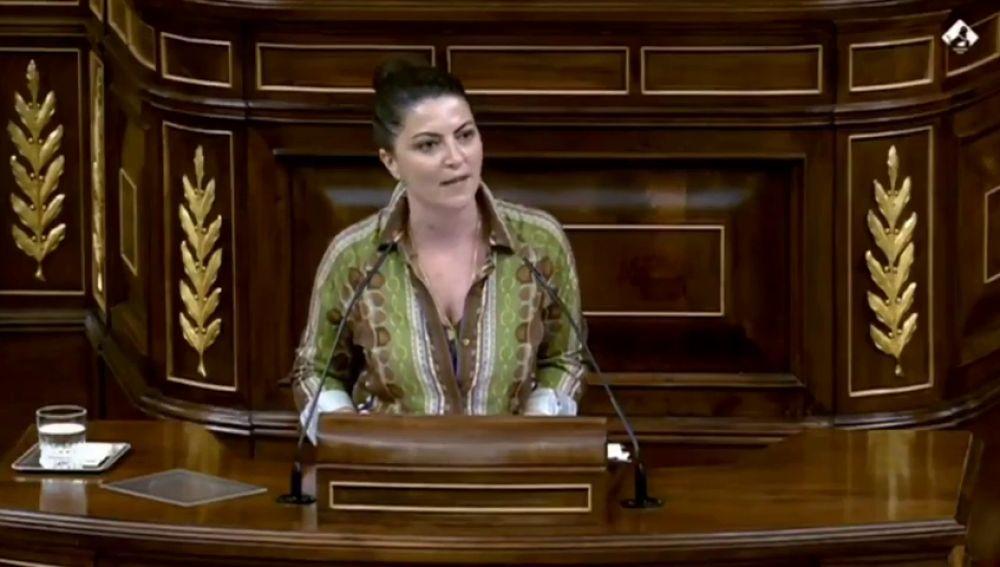 Macarena Olona, de Vox, sobre la actuación del PP en los fondos europeos
