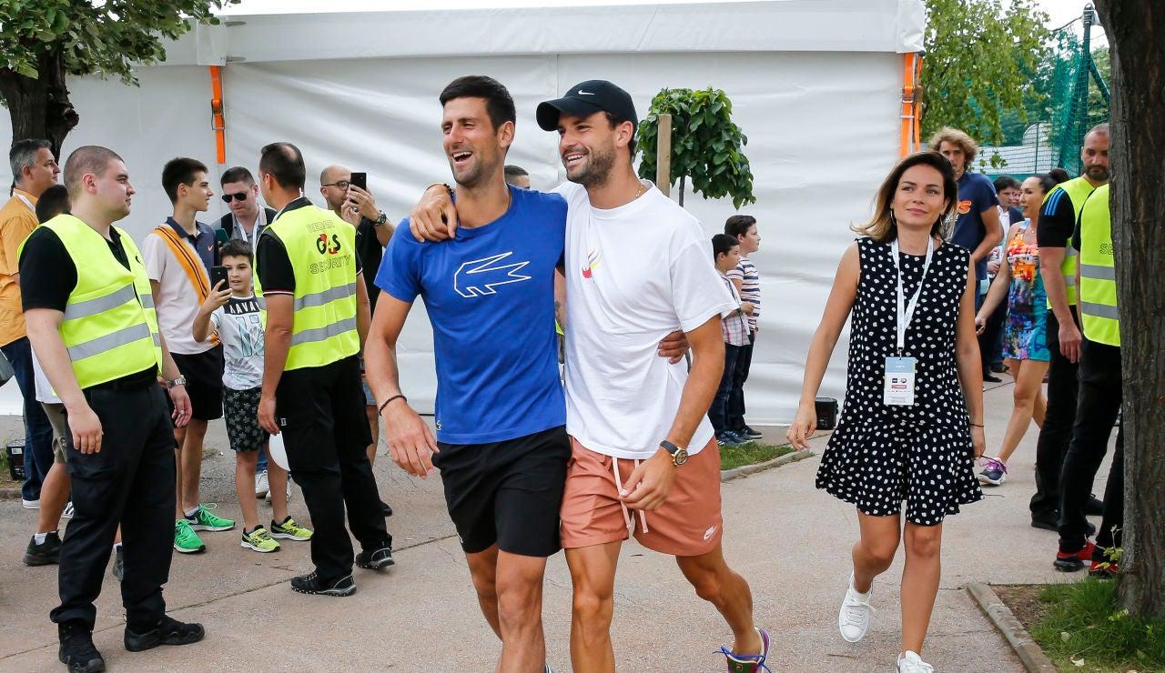 El padre de Novak Djokovic culpa al búlgaro Grigor Dimitrov del brote de coronavirus