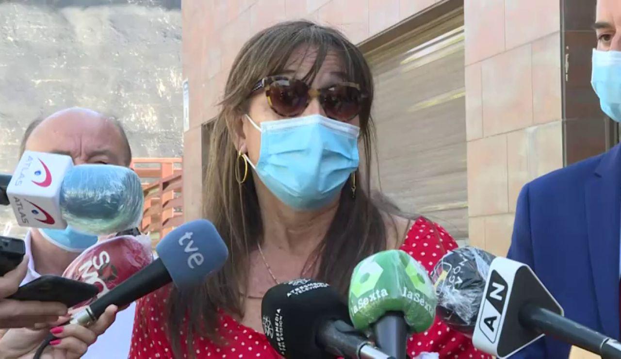 """Sira Ripollés, consejera de Sanidad de Aragón, dice que el rebrote de coronavirus """"está controlado"""" y la mayoría son """"jóvenes asintomáticos"""""""