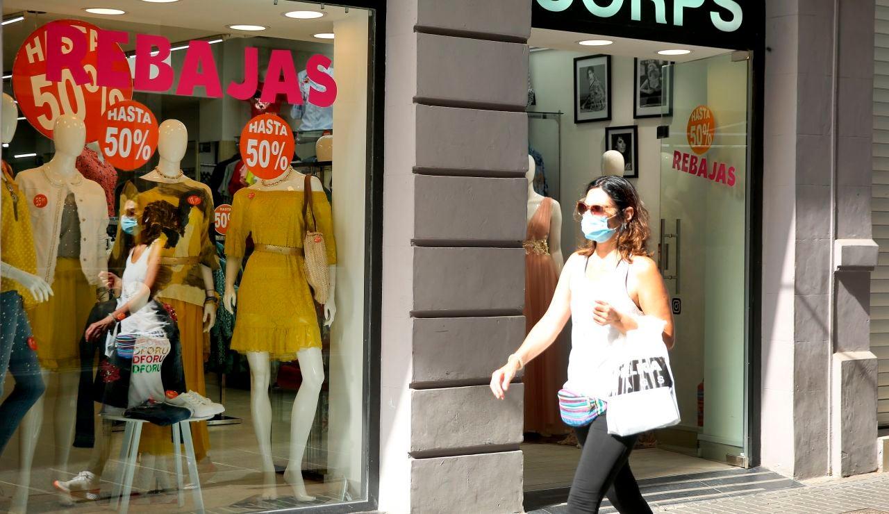 El temporal Filomena y la pandemia del coronavirus empeoran un 25 % las ventas del sector textil en las rebajas