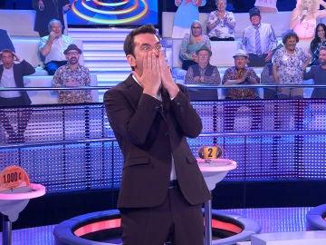 El sexi movimiento de Palmira Gogó que ha dejado impresionado a Arturo Valls