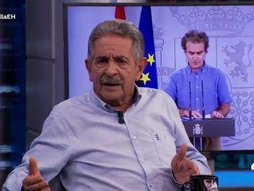"""Miguel Ángel Revilla discrepa respecto a la opinión de Pablo Motos sobre Fernando Simón: """"Ante lo que nadie conoce, ¿quién es el 'guapo' que está preparado?"""""""