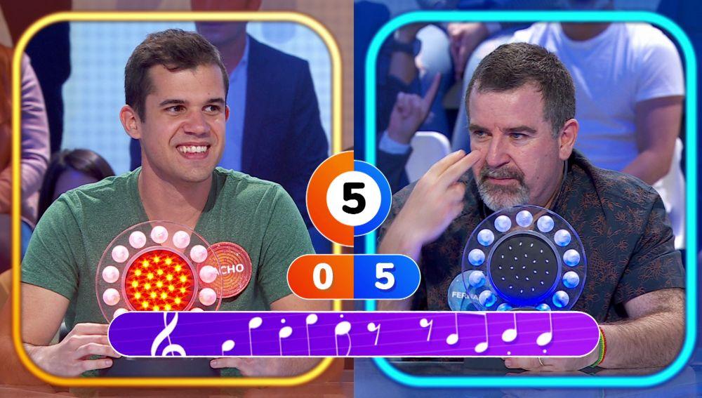 Nacho vence a Fernando 'One more time' en 'La Pista'