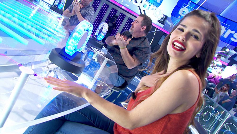 """La emoción se apodera de Sara Sálamo con 'City of Stars': """"¡Un sueño para mí!"""""""