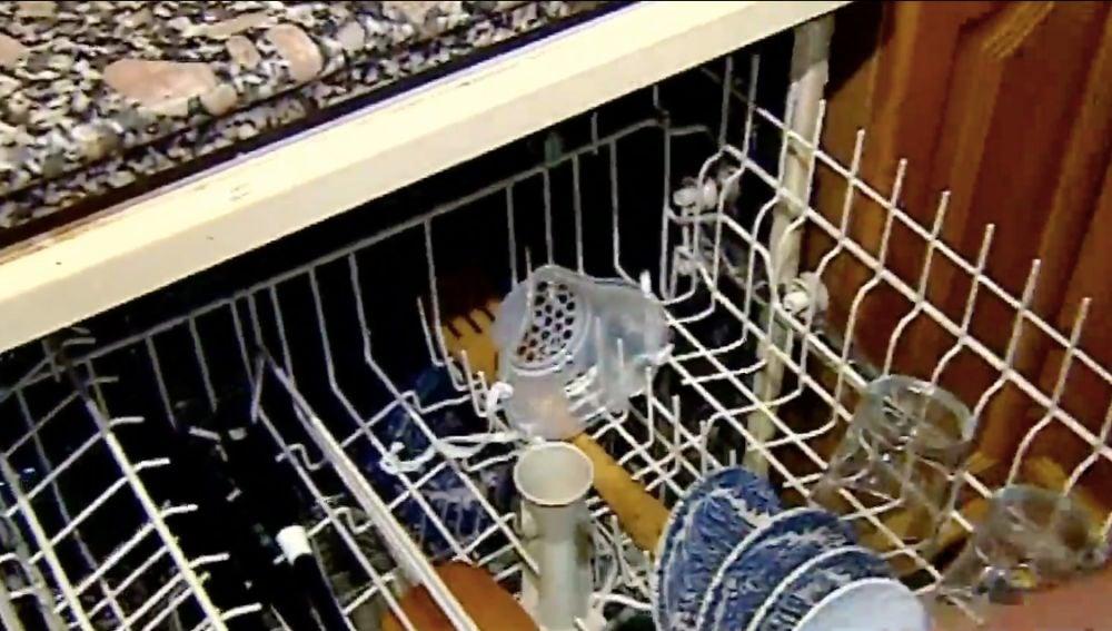 Mascarilla en el lavavajillas