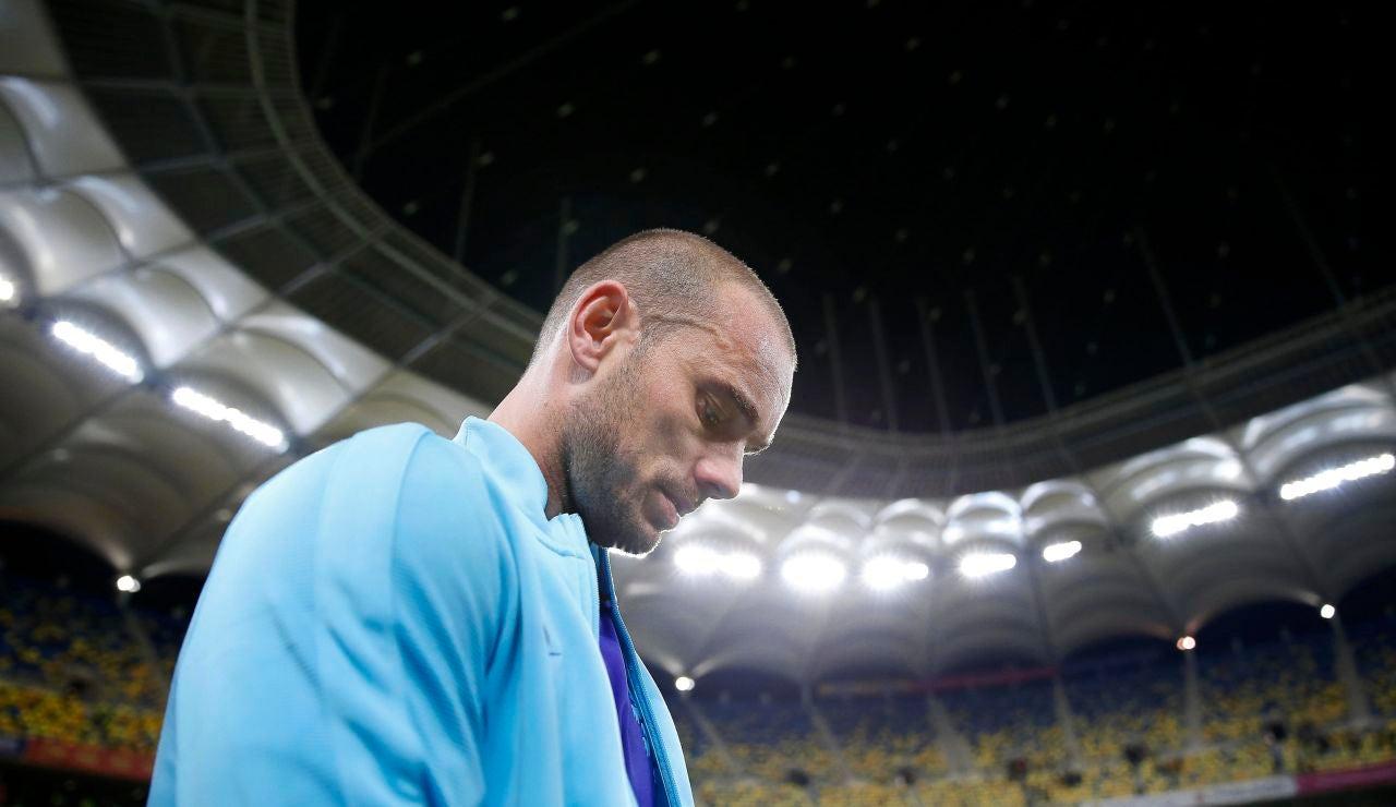 Wesley Sneijder, exjugador del Real Madrid