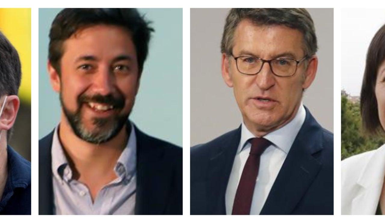 Candidatos elecciones Galicia 2020