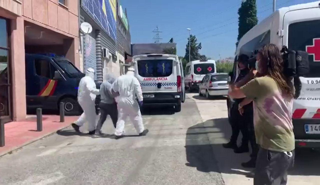 Al menos 89 contagiados de coronavirus entre trabajadores y del centro de acogida de la Cruz Roja en Málaga