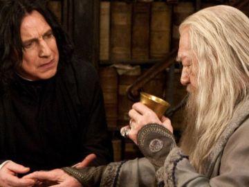 Snape y Dumbledore