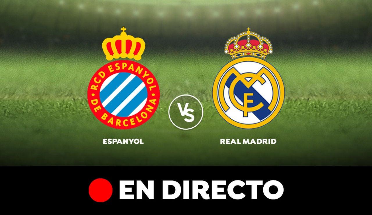 Espanyol - Real Madrid: Liga Santander, en directo