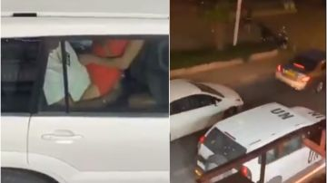 Graban a dos funcionarios de la ONU manteniendo sexo en el coche oficial durante un atasco