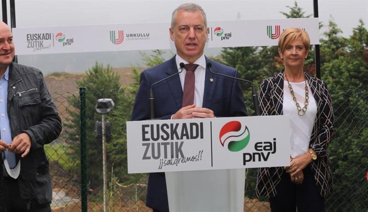 Urkullu, candidato del PNV en las elecciones vascas de 2020