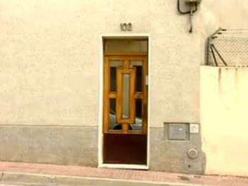 Lugar de la agresión con sosa en Barcelona
