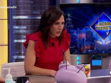 'Sudor 3.0': Malena Alterio se hace un lío en el complicado test de Trancas y Barrancas