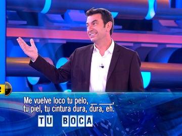 """La declaración de amor de Arturo Valls: """"Me vuelves loco Palmira"""""""