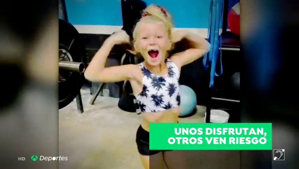 Brodie Bowen, la niña de siete años que levanta 41 kilos