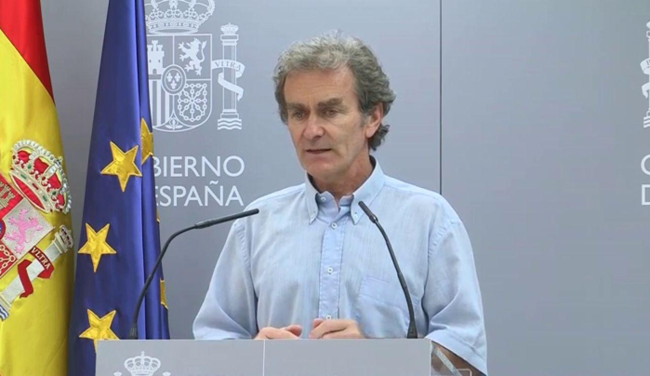 """Fernando Simón tilda de """"egoístas"""" las mascarilla FFP2 y hace un llamamiento a utilizar las quirúrgicas"""