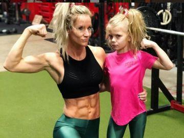 Brodie Bowen, la polémica 'niña fitness' de siete años que arrasa en las redes