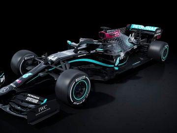 El nuevo monoplaza de Mercedes contra el racismo