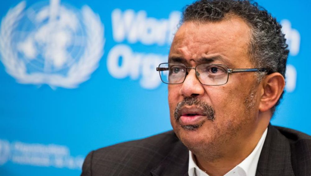 El director general de la OMS, Tedros Adhanom Ghebreyesu