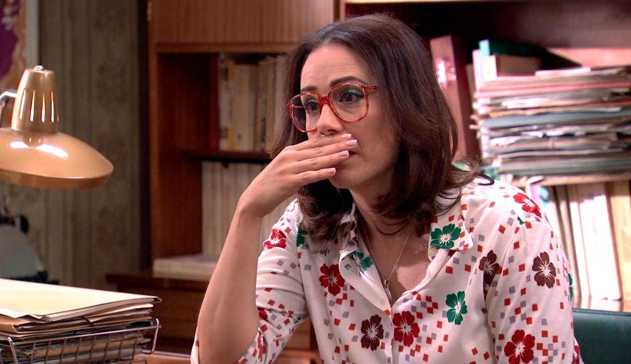 """Cristina, desesperada le confiesa a Manolita su secreto: """"Guillermo no es el padre de mi hijo"""""""