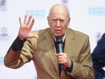 El actor y cómico Carl Reiner