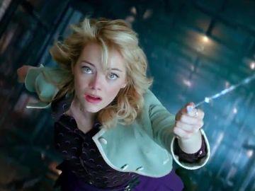 Emma Stone como Gwen Stacy en 'The Amazing Spiderman'
