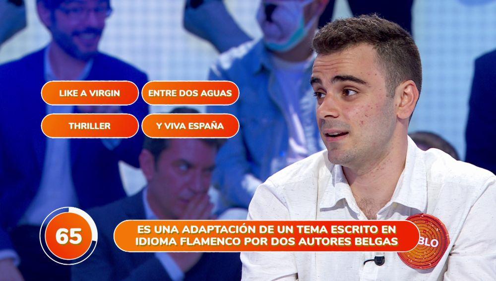 """""""Y viva España"""", el lío de Pablo en 'Una de Cuatro'"""