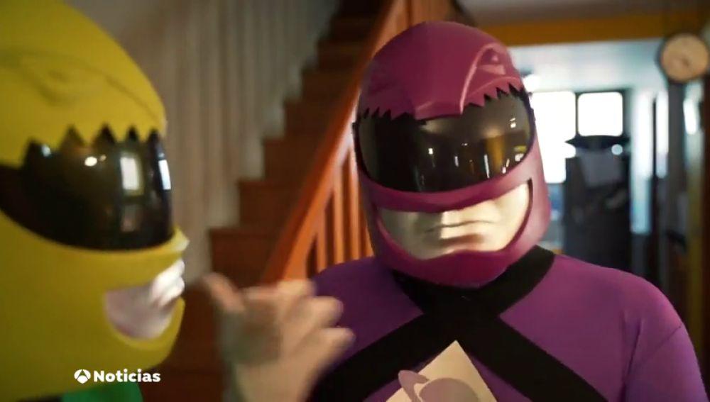 Podemos utiliza a los 'Power Rangers' para promover un Gobierno de izquierdas en el País Vasco
