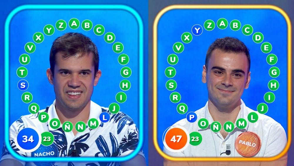 15 aciertos consecutivos marcan 'El Rosco' más igualado de Pablo y Nacho, ¿quién se alzará con la victoria?