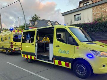 Ambulancia del Sistema d'Emergències Mèdiques