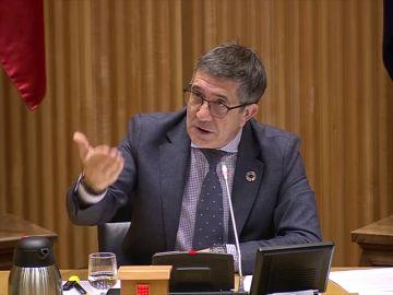 Enfrentamiento entre Patxi López y Bildu por la derogación de la reforma laboral