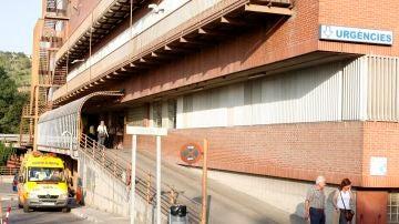 Entrada de urgencias del hospital Josep Trueta de Girona