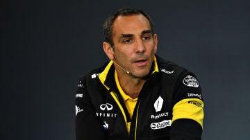 Cyril Abiteboul, director general de Renault Sport F1