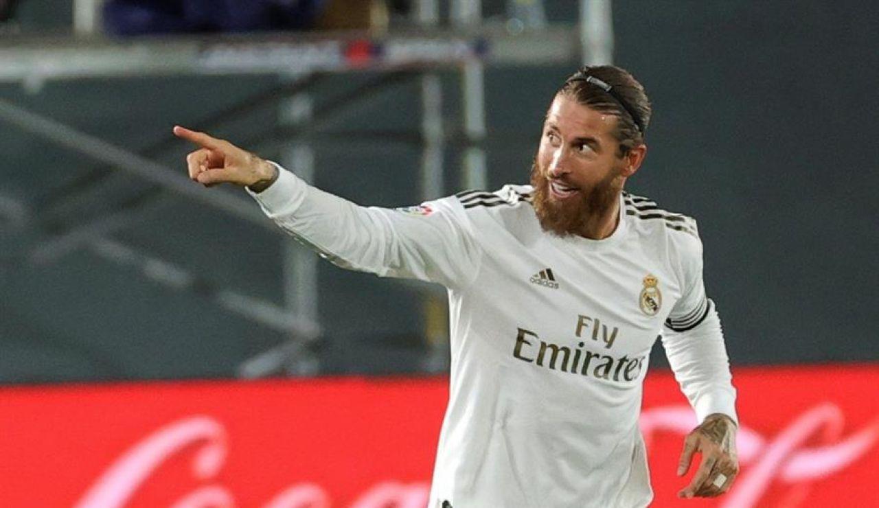 Sergio Ramos lidera al Real Madrid tras el parón: es el 'pichichi post-coronavirus' de la Liga