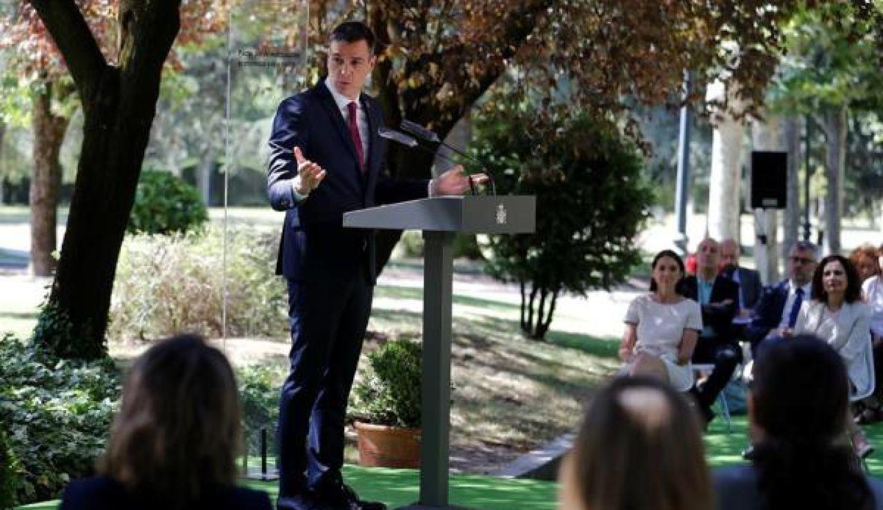 Pedro Sánchez en Moncloa