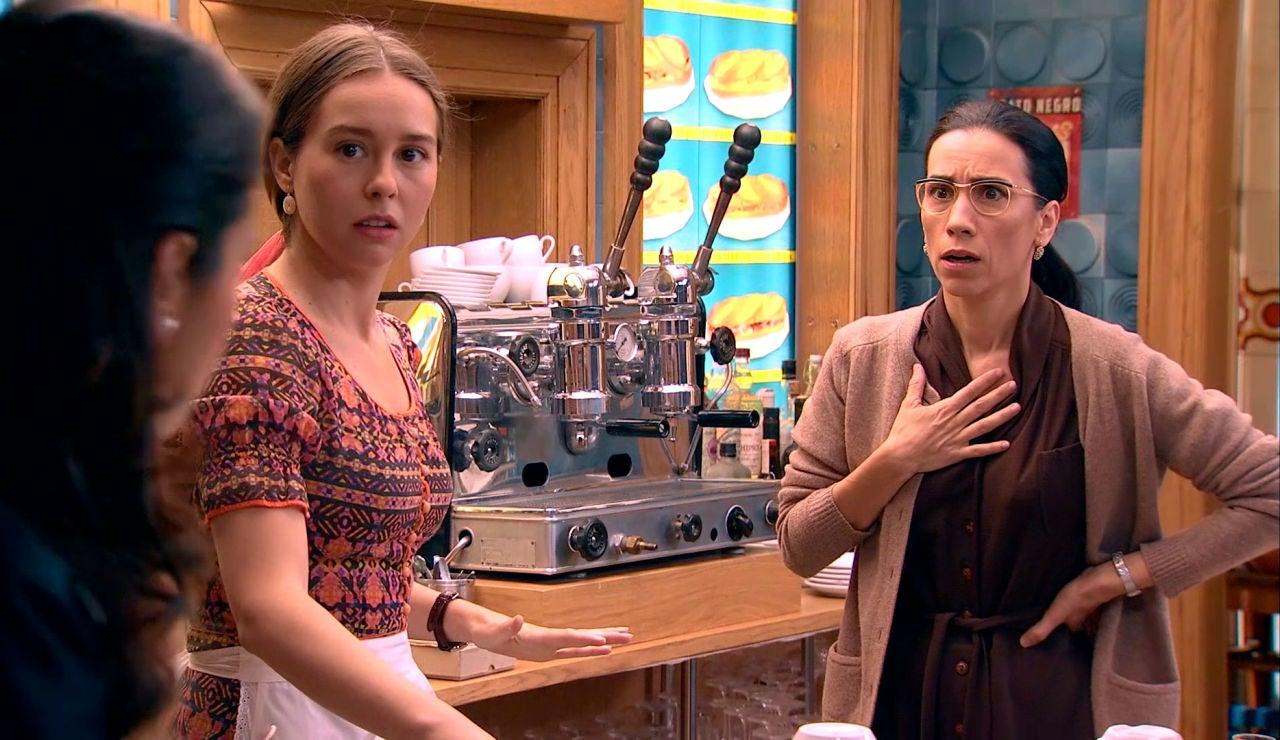 Manolita estalla con Luisita y Amelia: ¿Cómo qué queréis tener un hijo?