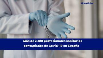 Sanitarios contagiados de coronavirus