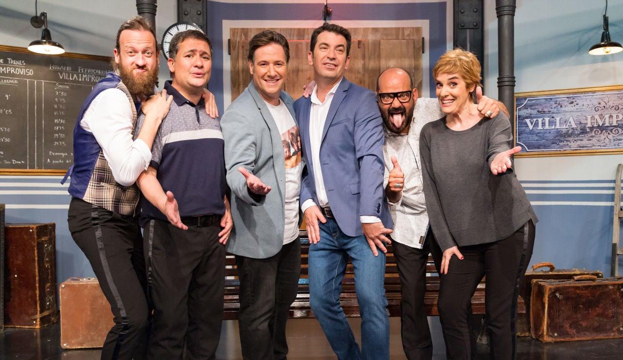 Doble ración de humor con 'Improvisando' este lunes a las 22:45 horas en Antena 3