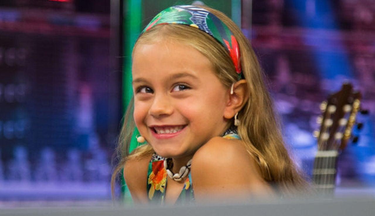 Sirena Segura, hija de Santiago Segura, en 'El Hormiguero 3.0'