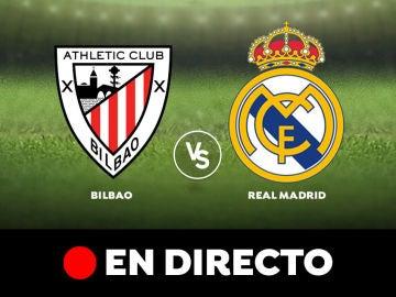 Athletic de Bilbao - Real Madrid: Liga Santander, en directo