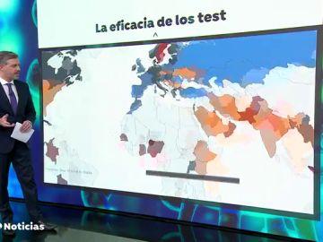 Desacuerdo entre los expertos sobre si España debe realizar más test para controlar el coronavirus