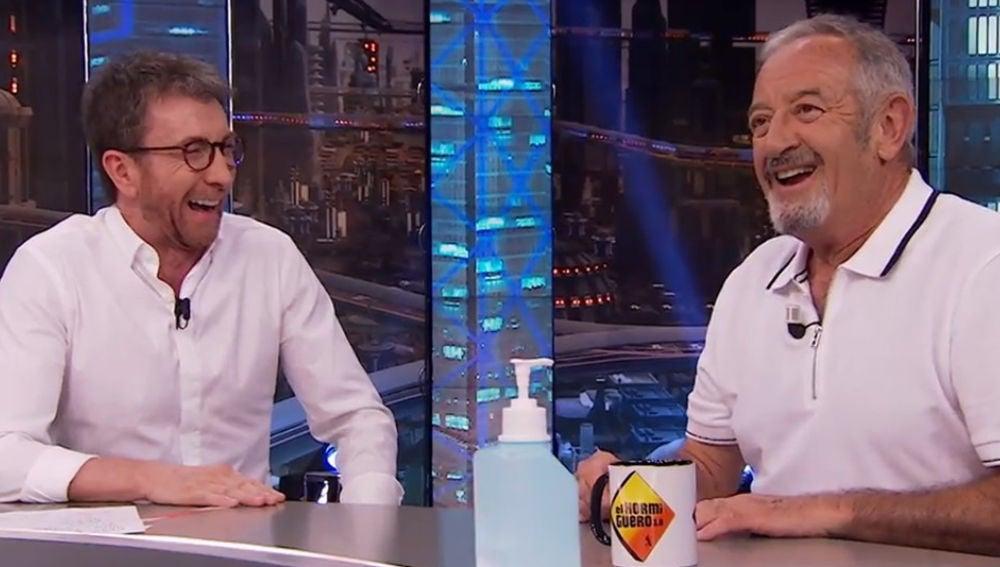 Karlos Arguiñano y Pablo Motos en 'El Hormiguero 3.0'
