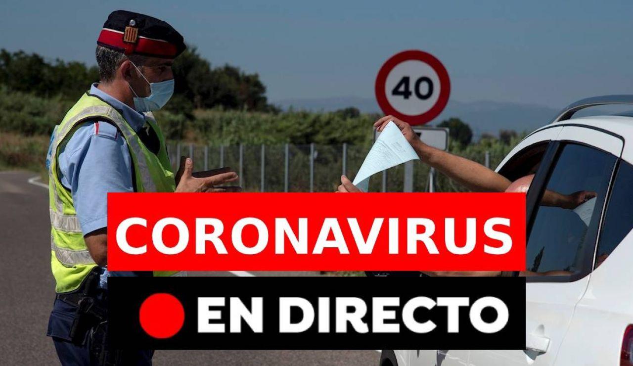 Coronavirus en España hoy: Última hora de los rebrotes, muertos y nueva normalidad, en directo
