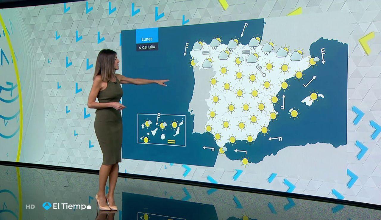Tu Tiempo (05-07-20) Mucho calor en amplias zonas de España y nubosidad en el norte