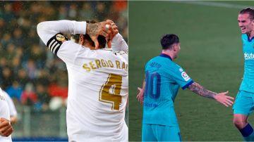 Real Madrid y Barcelona, la lucha por LaLiga