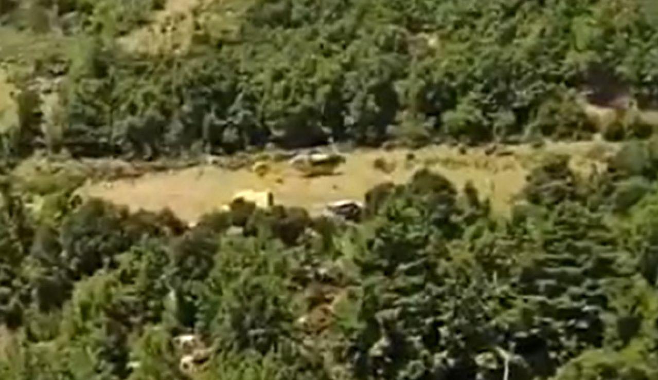 Mueren dos personas en un accidente de helicóptero en el La Vansa i Fornols (Cataluña)