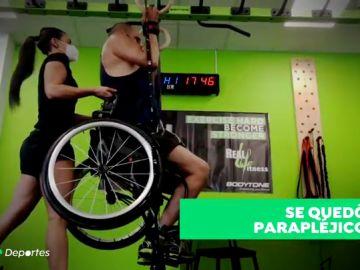 Luis María, parapléjico tras un fatal accidente en la celebración del Mundial de Sudáfrica